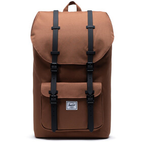 Herschel Little America Backpack saddle brown/black